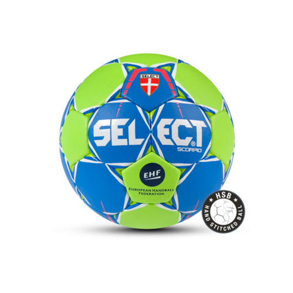 Select Scorpio Handbal - Royal / Groen