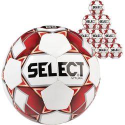 Select Vitura 10X Lots De Ballons - Rouge / Blanc