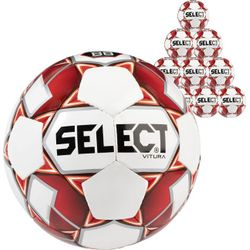 Select Vitura 50X Lots De Ballons - Rouge / Blanc