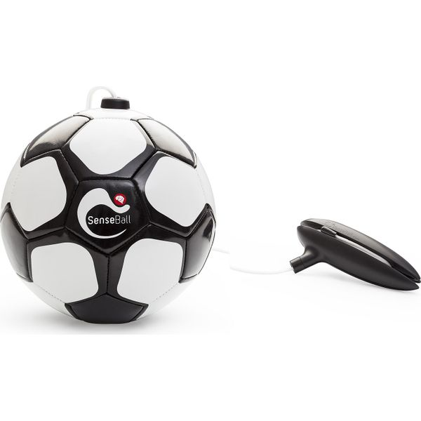 Senseball Football - Blanc / Noir