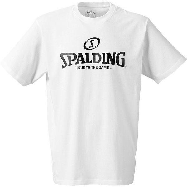 Spalding Logo T-Shirt Enfants - Blanc