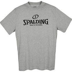 Spalding Logo T-Shirt Heren - Grijs Gemeleerd