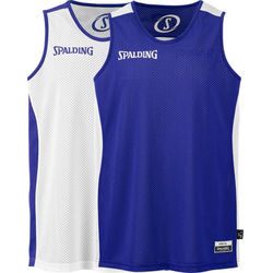 Spalding Essential Maillot Réversible Enfants - Blanc / Royal