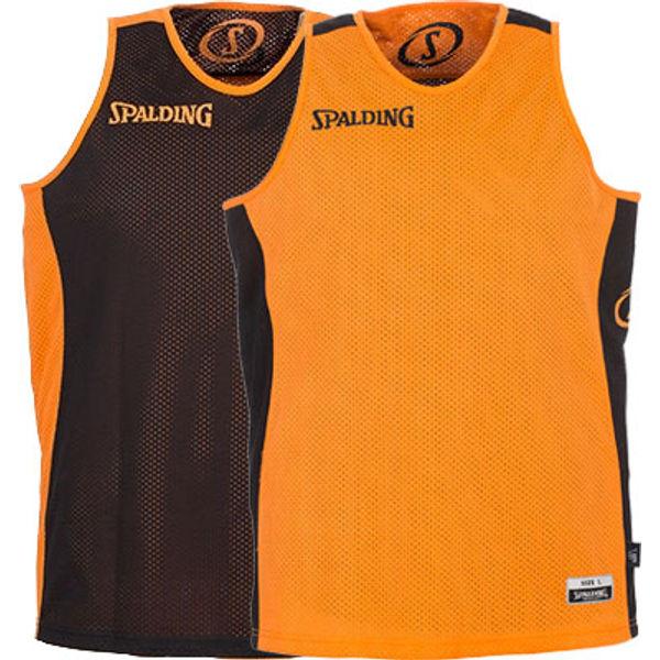 Spalding Essential Reversible Shirt Kinderen - Oranje / Zwart