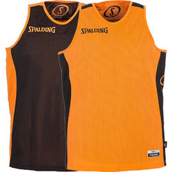Spalding Essential Maillot Réversible Enfants - Orange / Noir
