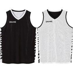 Spalding Essential 2.0 Reversible Shirt - Zwart / Wit