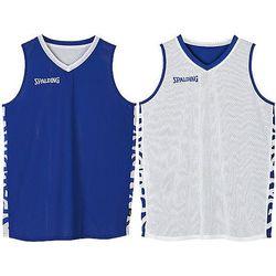 Spalding Essential 2.0 Reversible Shirt Kinderen - Royal / Wit