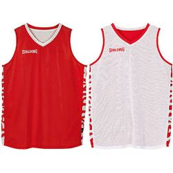 Spalding Essential 2.0 Reversible Shirt - Rood / Wit