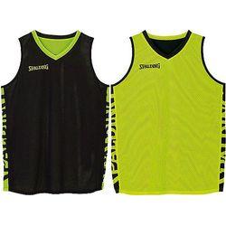 Spalding Essential 2.0 Reversible Shirt - Zwart / Fluogeel