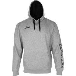 Spalding Team II Sweater Met Kap Heren - Grijs Gemeleerd