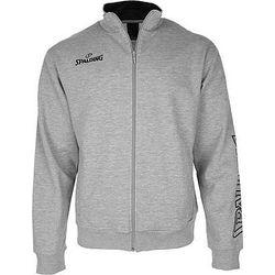 Spalding Team II Zipper Jacket Heren - Grijs Gemeleerd