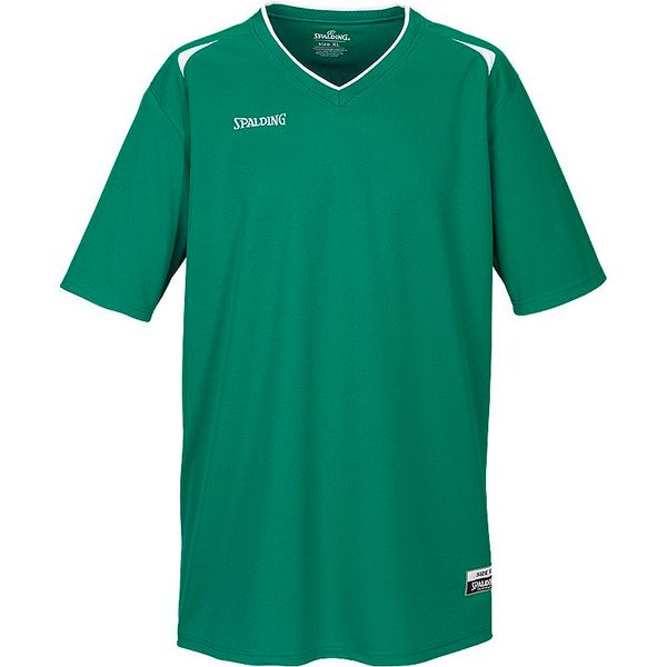 Spalding Attack Maillot De Shooting Enfants - Green / White