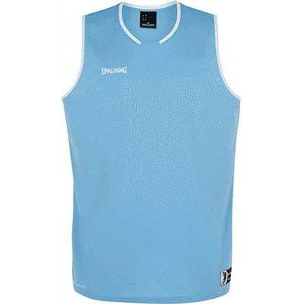 Spalding Move Basketbalshirt Heren - Hemelsblauw / Wit