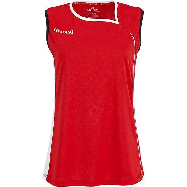 Spalding 4Her 2 Basketbalshirt Dames - Red / White