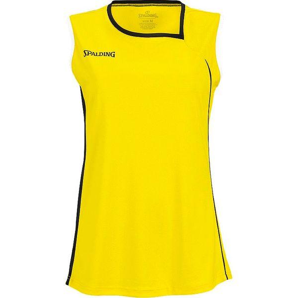 Spalding 4Her 2 Basketbalshirt Dames - Yellow / Black / White