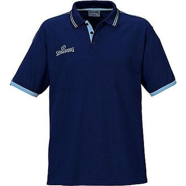 Spalding Polo Heren - Navy / Sky Blue