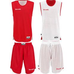 Spalding Double Face Set De Basketball Réversible Enfants - Red / White