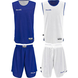 Spalding Double Face Set De Basketball Réversible Hommes - Royal / White