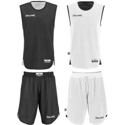 Spalding Double Face Set De Basketball Réversible Hommes - Black / White
