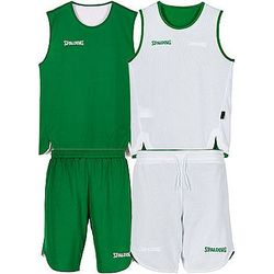 Spalding Double Face Set De Basketball Réversible Enfants - Vert / Blanc