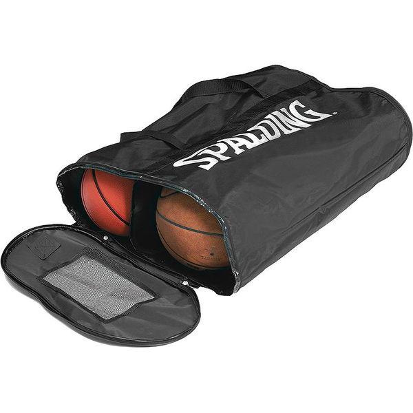 Spalding Ballentas Voor 6 Basketballen - Black