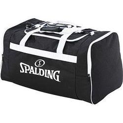 Spalding Large Sporttas Met Zijvakken - Zwart / Wit