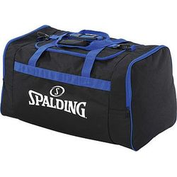 Spalding Large Sac De Sport Avec Poches Latérales - Noir / Royal