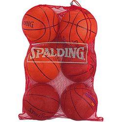 Spalding (7-Ball) Basketball Mesh Bag - Rouge