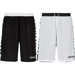 Spalding Essential 2.0 Short Réversible Hommes - Noir / Blanc