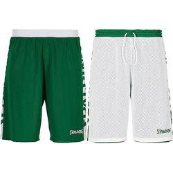 Spalding Essential 2.0 Reversible Short Heren - Groen / Wit