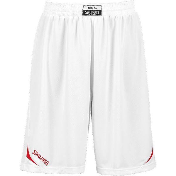 Spalding Attack Basketbalshort - White / Red