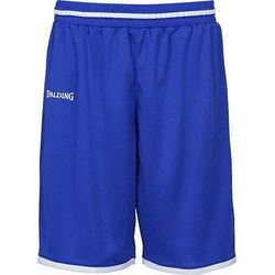 Spalding Move Short De Basketball Hommes - Royal / Blanc