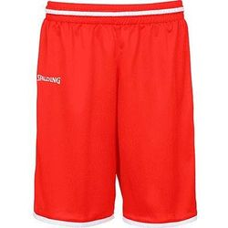 Spalding Move Short De Basketball Enfants - Rouge / Blanc