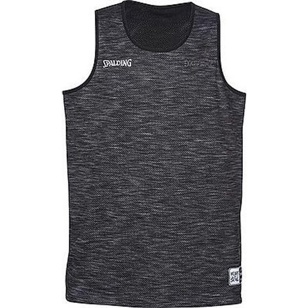 Spalding Street Reversible Shirt - Grijs Gemeleerd / Zwart