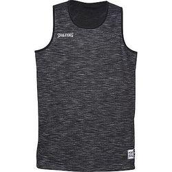 Voorvertoning: Spalding Street Reversible Shirt - Grijs Gemeleerd / Zwart