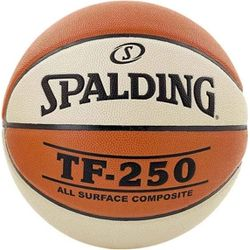 Spalding Tf 250 Basketbal Dames - Oranje / Wit