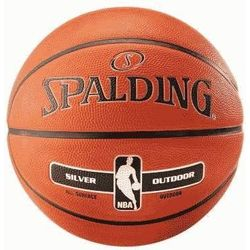 Spalding Nba Silver Series In/Outdoor Basketbal - Oranje
