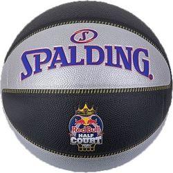 Spalding Redbull Halfcourt Basketball Hommes - Noir / Gris / Mauve