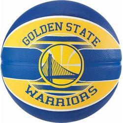 Spalding Golden State Warriors (Size 7) Team Outdoor Basketbal - Royal / Geel