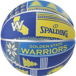 Spalding Golden State Warriors Basketbal - Blauw / Geel