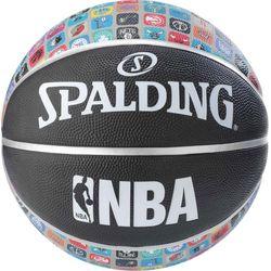 Spalding Logo Nba Icon Basketball Hommes - Noir / Multicolore