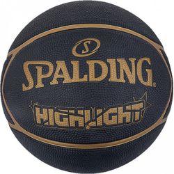 Spalding Highlight Basketbal Heren - Zwart / Goud