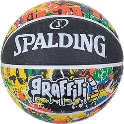 Spalding Rainbow Basketball Hommes - Noir / Multicolore