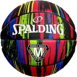 Spalding Marble Basketball Hommes - Noir / Multicolore