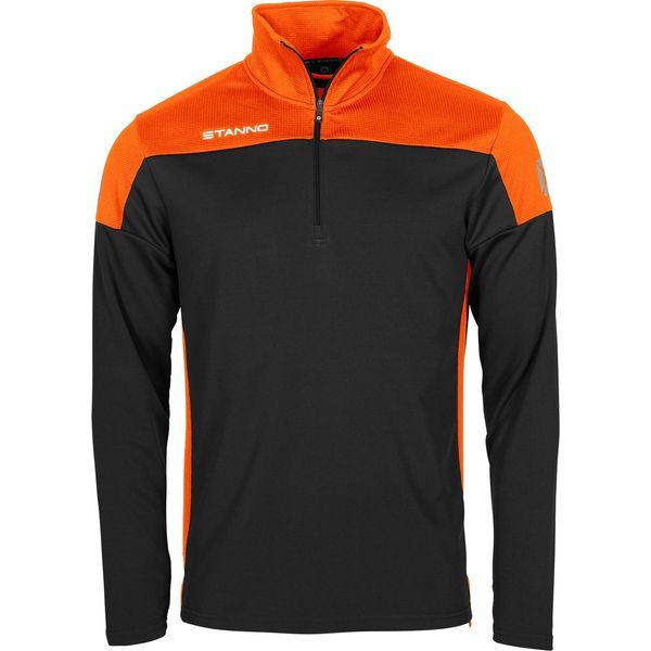Stanno Pride Ziptop - Zwart / Oranje