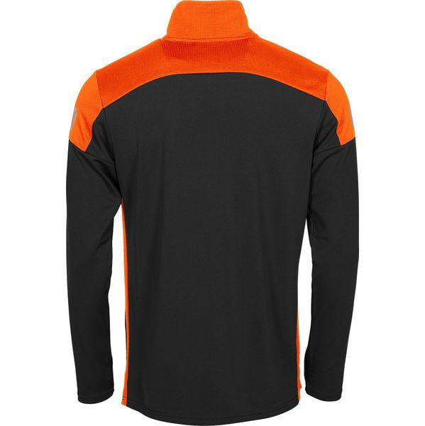 Stanno Pride Ziptop Heren - Zwart / Oranje