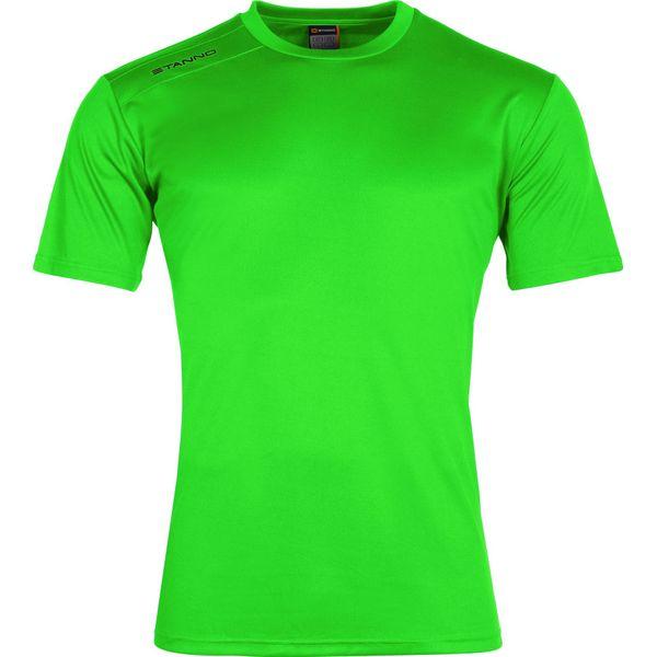 Stanno Field Shirt Korte Mouw - Fluo Groen