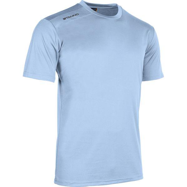Stanno Field Shirt Korte Mouw Kinderen - Hemelsblauw