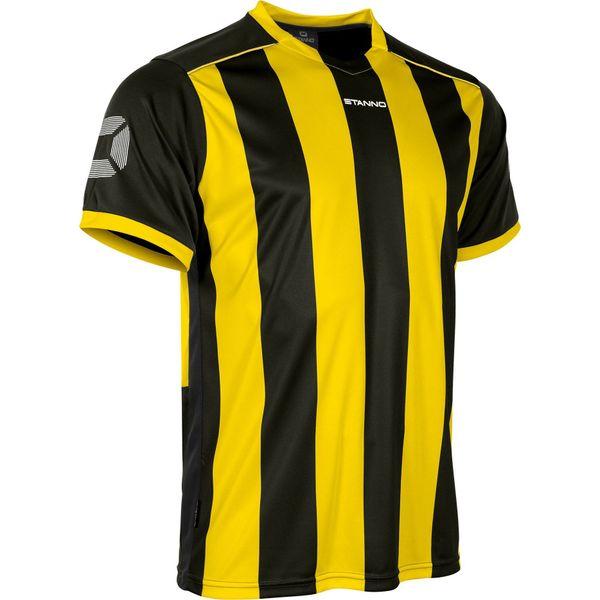 Stanno Brighton Shirt Korte Mouw - Geel / Zwart