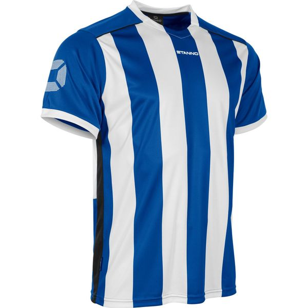 Stanno Brighton Shirt Korte Mouw Kinderen - Royal / Wit